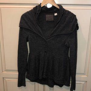 Guinevere anthropology merino wool sweater